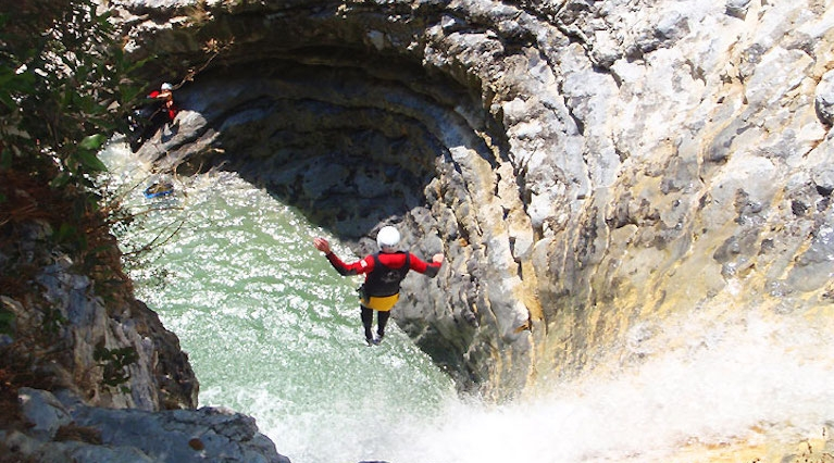 Experienced Canyoning